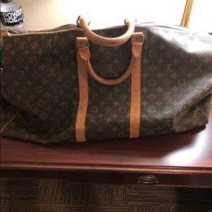 Luis Vuitton Keepall Bag 60 size